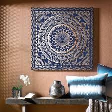 fabric canvas wall art pinterest