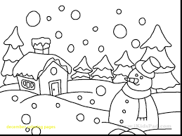 Inspiring Design December Coloring Pages Endearing In Sweet With