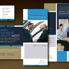 unique brochures dynamic graphic design for management consulting services