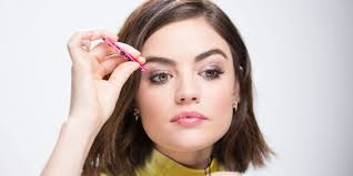 the makeup hacks lucy hale uses before she goes on the set of pretty little liars