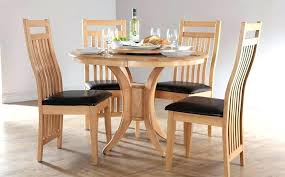 round wood dining table set round wooden table and chairs traditional round kitchen table set for