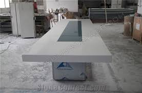 acrylic solid surface conference tablesquare marble meeting desk manmade stone office desk tell world solid surface co ltd acrylic office desk