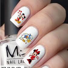 50pc disney nail decals nail decal nail art nail sticker
