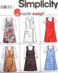 Jumper Pattern Impressive Amazon Simplicity Sewing Pattern 48 Misses' Skort Jumper 48