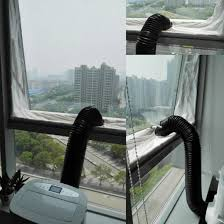 Y56 4 M Universal Air Lock Fenster Dichtung Für Mobile Klimageräte