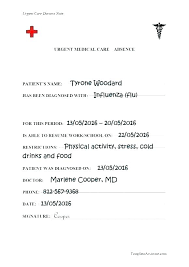 Fake Doctors Note Uk Template Naomijorge Co