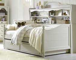 legacy classic kids inspirations westport bookcase daybed with trundle storage drawer in morning mist 3830 clearance