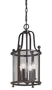light hanging hall lantern antique bronze