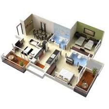 stylish design ideas 11 1500 sq ft house plans in 3d 1000 tiny