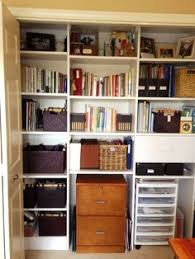 organize office closet. Organized Home Office Closet. GREAT Blog To Follow! This Is A Fantastic Idea; Even If I Only Did Half Of My Closet Like Organize .
