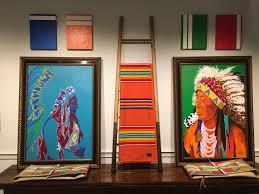 Native Design Blankets Montana Stapleton Gallery Artist Judd Thompsons Work Is