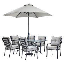 Outdoor Dining Furniture With Umbrella Patio Table Umbrellas Lovely