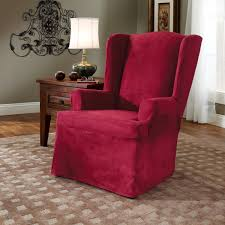 wing back chair covers lazy boy recliner covers wingback chair intended for oversized chair and ottoman