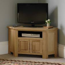 corner tv stand wood stands solid ideas including fabulous wooden unit for