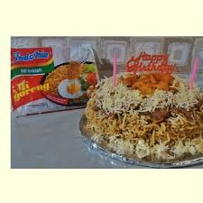 Indomie Birthday Cake Indomie Uniqmie