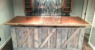 bar top ideas colorful resin basement inexpensive outdoor