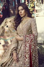 Pakistan Designer Beautiful Heavily Embroidered Pink Pakistani Bridal Dress By