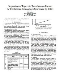 Ieee Conference Presentation Template Ieee Conference Presentation