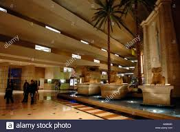 Las Vegas Hotel Interior Design The Interior Decoration At The Luxor Hotel And Casino In Las