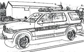 Police Coloring Page Police Officer Free Printable Coloring Page