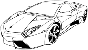 Sports Car Coloring Pages Printable Printable Coloring Page For Kids