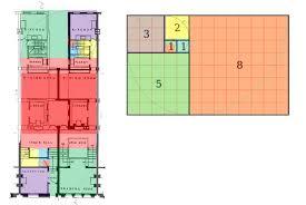 Golden Ratio House Design. Roloson Floor Plan