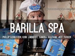barilla spa by sandra mcmahon sullivan barilla spa