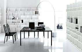 black and white office decor. Home Office Decorating Ideas Chic Black White Decor Furniture And G