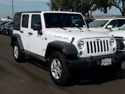 jeep rubicon 2014 white. Perfect White White 2014 Jeep Wrangler Unlimited Rubicon For Sale In Fairfield CA On 4