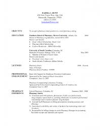 Resume Availability Example Best of Pharmacy Technician Resume Sample No Experience By Job For Template