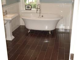 decoration wood tile in bathrooms new floor bathroom idea on your home inside 20 from