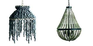 how to make a bead chandelier blue beaded chandelier wood beaded chandelier blue wooden bead chandelier