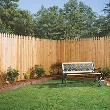 wood fence backyard. Wonderful Fence Wood Fencing And Fence Backyard Home Depot