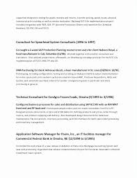 Examples Of A Cv Extraordinary Resume For Second Job Luxury Resume Example For First Job New First