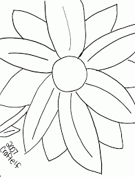 innovative big flower coloring pages flowers printable free
