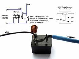 spdt no relay schematic wiring diagram for you • diy home made tv radio jammer spdt relay spdt relay schematic diagram 12v dpdt relay