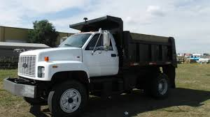 1991 Chevrolet Kodiak Single Axle Dump Truck w/ Cat 3116 Turbo Dsl ...