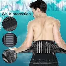 <b>Adjustable Elastic Waist Support</b> Back Belts Brace | Shopee ...
