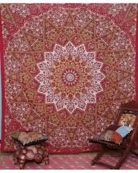 surprising idea wall hanging tapestry designing home reddish indian star vintage elephant uk modern kits hippie