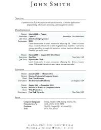 Architectural Resume Examples No Experience Resume Examples Sample