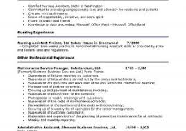 Resume Format For Nursing Job Free Download Curriculum Vitae Sample ...