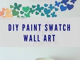 recreate this beautiful yet simple wall art craft