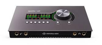 Universal Audio Launch New Apollo Twin X And Apollo X4