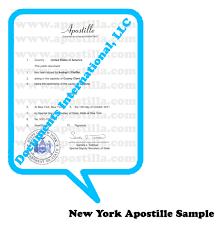 New York Apostille Apostille Nyc Apostilla Com