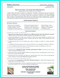 Template Template Sous Chef Resume Executive Example Pastry Examples