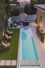 Pool Designs For Small Backyards Gorgeous Amazing Lap Pool Italian Modern Lawn Concrete Steps Click On
