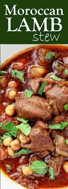 Lamb Stew Recipe Easy Moroccan Lamb Stew Recipe The Mediterranean Dish