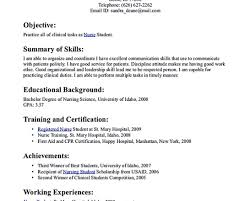 Example Of Nursing Resume Implementation Engineer Cover Letter