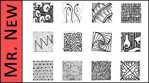 Easy Zentangle Patterns Interesting Easy Zentangle Doodles How To Make48 Extra Patterns Step By Step