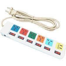 Ổ Cắm Điện HONJIANDA Loại 5 Ổ Và 2 Cổng USB - HJD-0666B-2U - Ổ cắm điện  Thương hiệu Honjianda